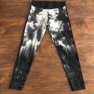 Adidas Climalite Large Leggings Black White